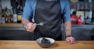 Squid Ink Pasta inspired by JoJo's ...