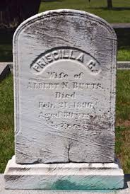 Priscilla Gray Haskell Butts (1815-1896) - Find A Grave Memorial