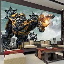 Transformers Bumblebee Wall Mural Large Wall Art Photo Wallpaper Designer Wall Stickers Childrens Room Bedroom Custom Mural Wallpaper Full Resolution Hd Wallpap Dormitorio De Los Ninos Dormitorios Ninos Decoracion De Unas