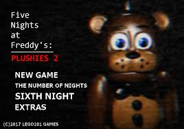 here s the menu for fnaf plushies 2 v4