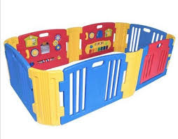 Extra Large Haenim Play Yard Playpen Play Fence 8 Panel Babies Kids Cots Cribs On Carousell