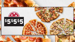 pizza hut canada brings back 5 5 5