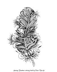 Pin Van Roan Tjon Fo Op Fantasy Feathers Coloringbook By Me