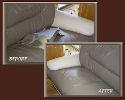 repair a large hole in leather sofa