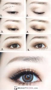 tutorial asian eye makeup korean eye