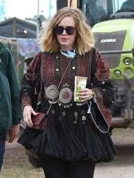 Adele: Day 1 of the Glastonbury Festival -07   GotCeleb