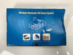 Transtar Wireless Electronic Pet Fence System Kd661 Ebay