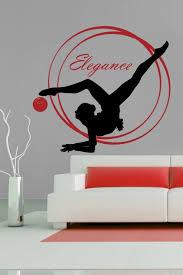 Wall Decals Elegant Gymnastics Walltat Com Art Without Boundaries
