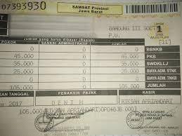 biaya pajak kendaraan bermotor