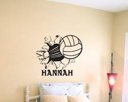 Don T Really Want This In My Room Just Thought It Was Cool It Said Hannah Volleyball Room Volleyball Bedroom Volleyball