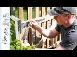 Fitting A Gate Spring Super Simple 5 Minute Job For Once Youtube