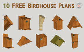 10 Free Diy Birdhouse Plans Built For 3 Simple No Drilling Designs