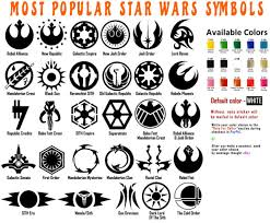 First Order Emblem Badge Vinyl Car Decal Star Wars Inspired Fan Art For Sale Online Ebay