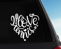 Sports Fan Player Team Car Laptop Sticker Vinyl Decal Peace Love Baseball