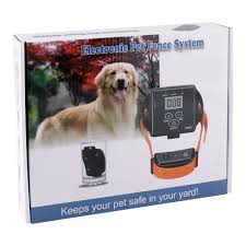 Wireless Electronic In Ground Dog Fence System 300m Waterproof Training Collar