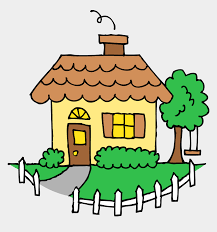 Clipart Of House Outside And Homes White Picket Fence House Drawing Cliparts Cartoons Jing Fm