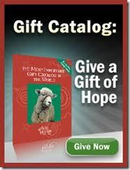 heifer international p on the gift