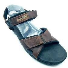 river sandals brown leather straps