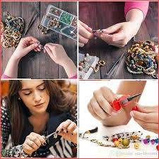 earring making kit faux leather