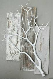 Pin by Addie Kelly on Alone (◎_◎;) | Crafts, White branches, Wood diy