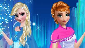 frozen make up games anna and elsa