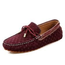mens designer loafers suede leather