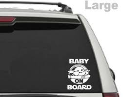 Baby On Board Decal Etsy