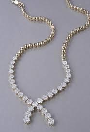 elegant fashion necklace with swarovski