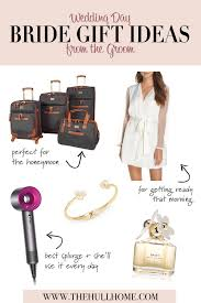 wedding day gifts for the bride that