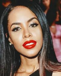 Dem red lips ... (With images) | Aaliyah singer, Aaliyah pictures ...