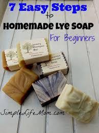 7 easy steps to homemade lye soap for