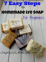 7 easy steps to homemade lye soap for