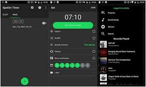 spotify s as alarm on iphone