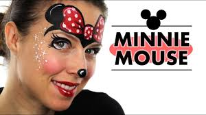 minnie mouse face painting ashlea