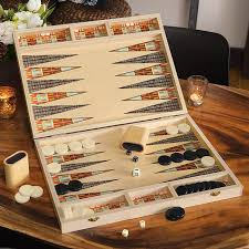 herman backgammon set all gifts olive