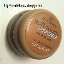 essence soft touch mousse makeup review