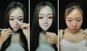 before and after makeup asian you