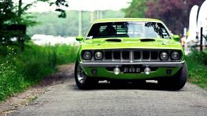 green muscle cars car wallpapers hd