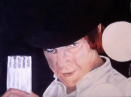 Got Malcom ? Painting by Deana Smith