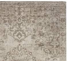 printed rug neutral pottery barn