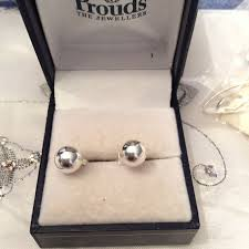 authentic vintage round sterling silver