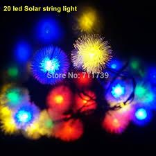 string fairy lights solar powered