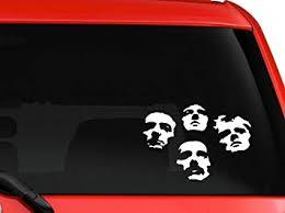 Amazon Com La Decal Queen British Rock Band Bohemian Rhapsody Album Cover Car Decal Sticker 6 White Automotive
