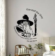 Gandalf Quote Wall Decal Tolkien Gift Vinyl Sticker Lord Of The Rings Poster 21v Ebay