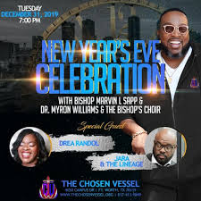 New Year's Eve Celebration with Bishop Marvin L. Sapp & Dr. Myron Williams  & The Bishop's Choir | Gospel Clipboard Marketing