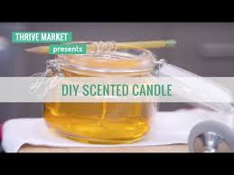 diy scented candle using coconut oil