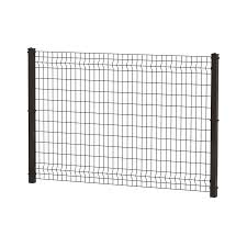 Ironcraft Actual 4 Ft X 6 Ft Euro Euro Black Powder Coated Steel Decorative Metal Fence Panel Lowes Com Metal Fence Panels Fence Panels Metal Fence