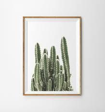 cactus print boho decor desert