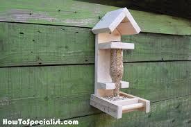 20 Best Diy Wooden Bird Feeders Plans And Ideas