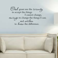 Winston Porter Dodsworth The Serenity Prayer God Grant Me The Serenity To Accept The Things I Cannot Change Wall Decal Reviews Wayfair